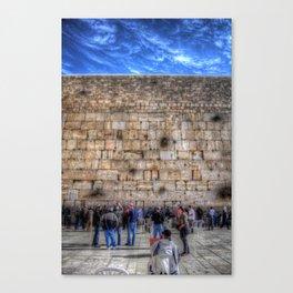 The Wailing Wall Series #2 Canvas Print