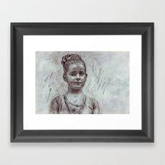 Vanjalina Framed Art Print