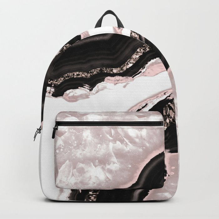 Agate Glitter Glam #4 #gem #decor #art #society6 Backpack