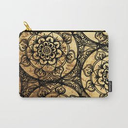 Golden Lace Carry-All Pouch