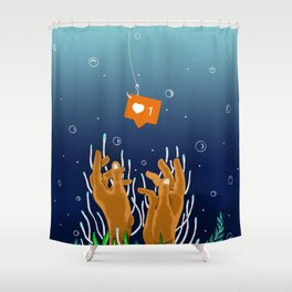 Liked Shower Curtain
