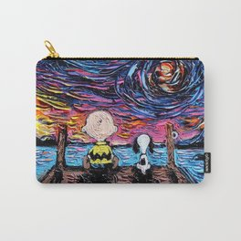 Snoopy Van Gogh Relax Carry-All Pouch