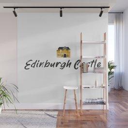 Edinburgh Castle souvenir Wall Mural