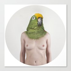 Therianthrope - Parrot Canvas Print