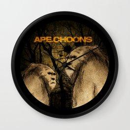 APE.CHOONS Logo Wall Clock