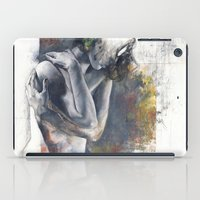 the fault iPad Cases featuring  Fault of the ground by Justin Harris
