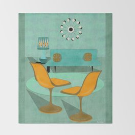 Room For Conversation Throw Blanket