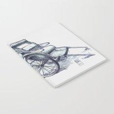 rickshaw japan Notebook