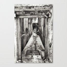 Children Playing in Stonetown Zanzibar 3665 Canvas Print