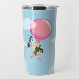 Don't Swallow Your Bubble Gum Travel Mug