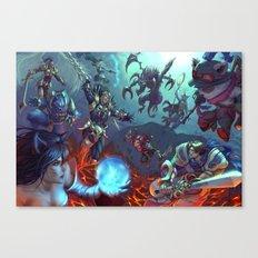 Summoner's Rift Canvas Print