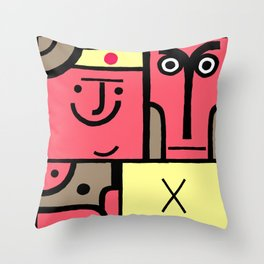 Square 1 Throw Pillow