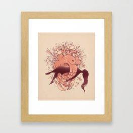 Love in Bloom Framed Art Print