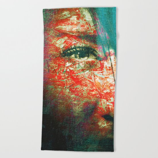 Magic People 2 Beach Towel