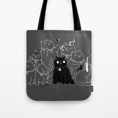 8 down, 1 to go Tote Bag