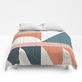 Cirque 03 Abstract Geometric Comforters