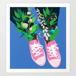 Welcome to the Shoe Show #2 Art Print