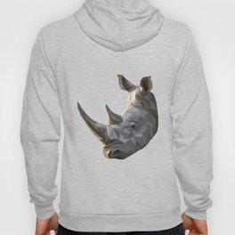 Low poly Rhinocerous Hoody