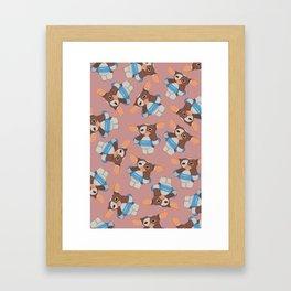Gizmo wants to swim Framed Art Print