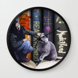 Grimalkin Wall Clock