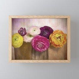 Poetry of spring Framed Mini Art Print