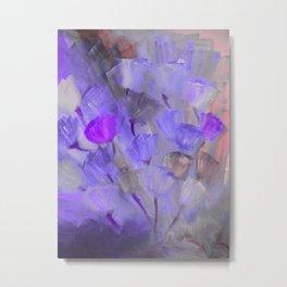 Emerging Flowers 13 Metal Print