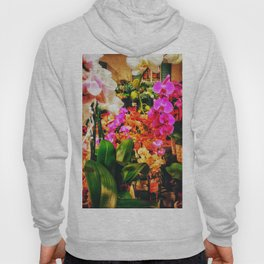 Orchids in the Market Hoody
