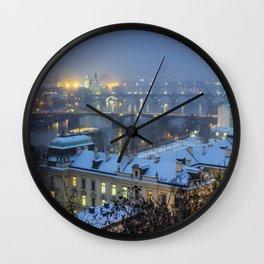 Prague 2 Wall Clock
