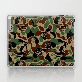 Dachshund  Camouflage Laptop & iPad Skin
