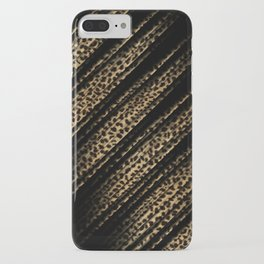 Black Leopard/Cheetah Print iPhone Case