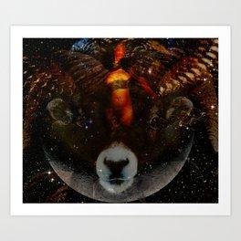 Celestial Cybil Art Print