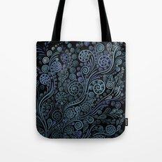 3D ornaments, blue Tote Bag