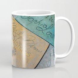 Marilyn Hand Prints in Hollywood Coffee Mug