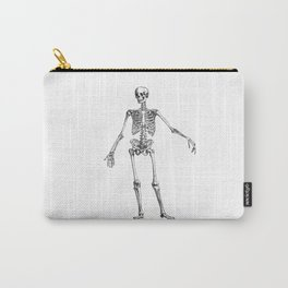 No body to dance with - skeleton Carry-All Pouch