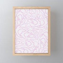 Pastel Pattern I Framed Mini Art Print