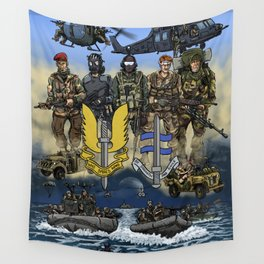 He Who Dares Wall Tapestry