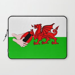 Wales Rugby Flag Laptop Sleeve