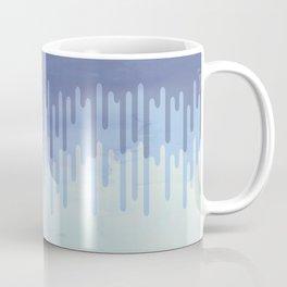 Melting blue Coffee Mug