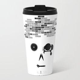 Builder    The world inside your head Travel Mug