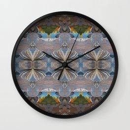 Joffre Patterns Wall Clock