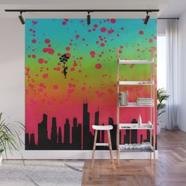 Float On Wall Mural