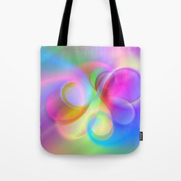 color whirl -21- Tote Bag