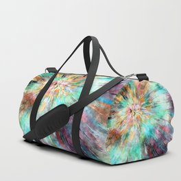 Colorful Tie Dye Duffle Bag