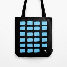 Desktop (Black) Tote Bag