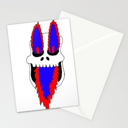Fire skull Stationery Cards