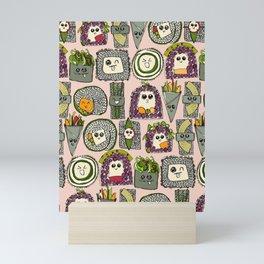 veggie sushi melba Mini Art Print