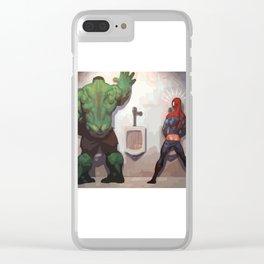 Big Hulk Clear iPhone Case