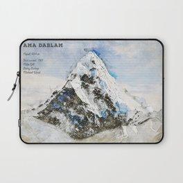 Ama Dablam, Nepal Asia Laptop Sleeve