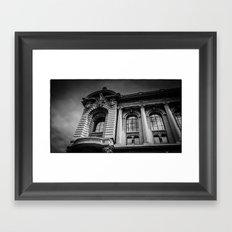 Monte Carlo, Monaco, building Framed Art Print