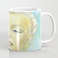 book cover Mugs featuring Marilyn Monroe comic book cover by Storm Media